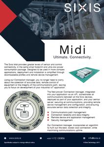 Sixis Mini Brochure (Cover)